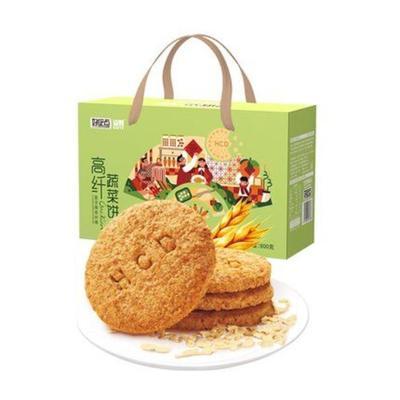 好吃点高纤蔬菜饼800g*3箱