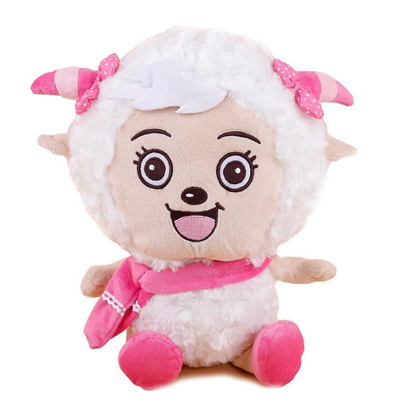 Dê dễ chịu Búp bê xinh đẹp Sói xám Sói Đồ chơi sang trọng Cừu lười Rag Doll Nhỏ Xám Xám Sinh nhật - Đồ chơi mềm
