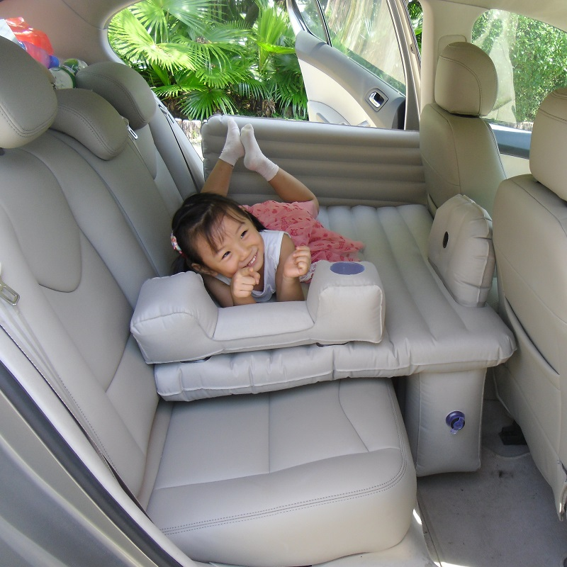 Car Inflatable Bed Back Row Children S Sleeping Mattress Car Back