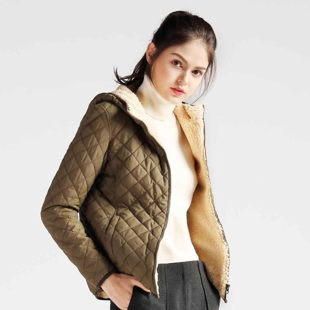 金絲絨棉服女士冬季棉襖