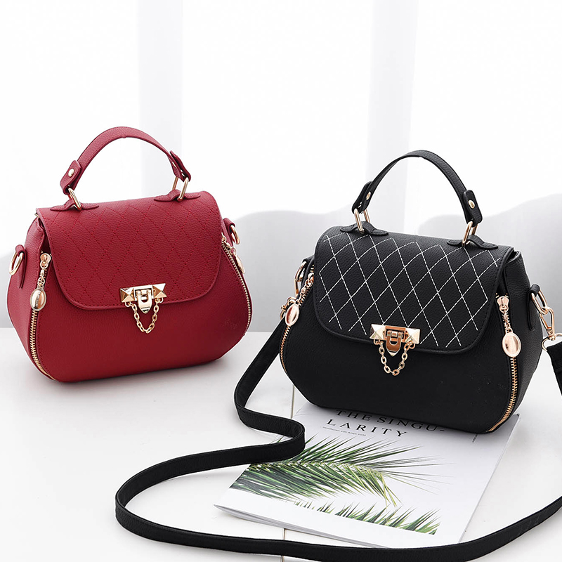 Female bag handbag 2019 spring new tide atmospheric fashion Korean simple  wild ladies shoulder messenger bag. Zoom · lightbox moreview · lightbox  moreview ... ed84311d00faf
