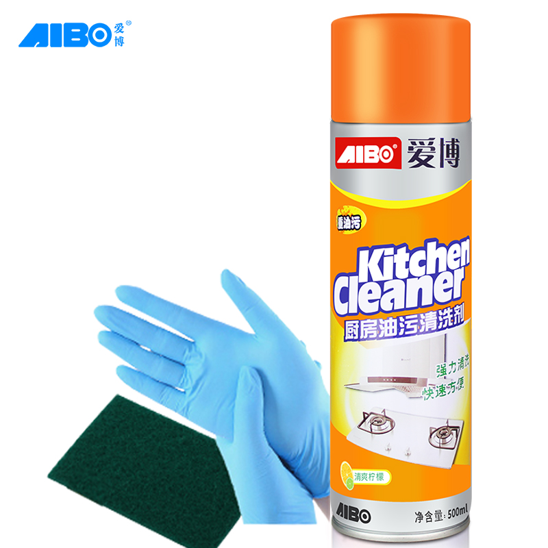 Kitchen Cleaner: Smoke Machine Cleaning Agent Kitchen Strong De-oil Multi