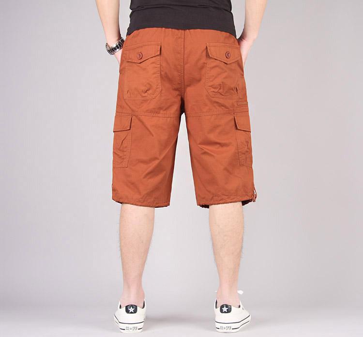 Mùa hè yếm quần thẳng quần quần quần âu quần thể thao nam quần short lỏng sáu quần xu hướng quần