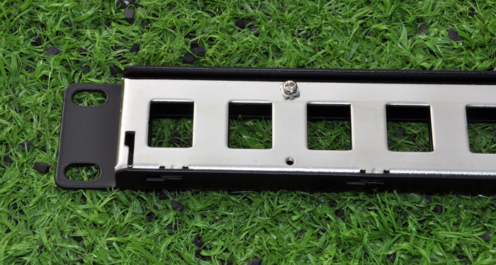 Mount Patch Cable Panel Networking Wiring Block Jack Rj45 1u Ebay