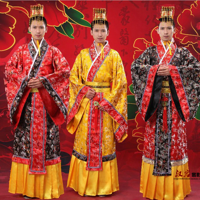 9e978ac67 Costume Tang male Han Dynasty Qin Han dynasty dragon robes Tang Dragon Emperor  clothing Han emperor costumes adult costumes
