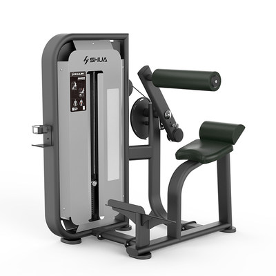 Shuhua SH-6817 Gym Commercial Back Muscle Stretch Trainer Back Down Treatment Muscle Major Fitness Equipment