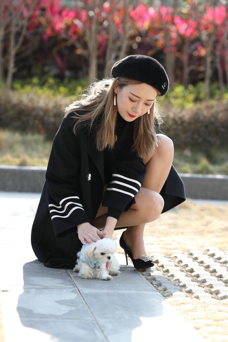 【范家辉模拍作品】王曼妮丝袜系列-擦肩而过【套图+视频】