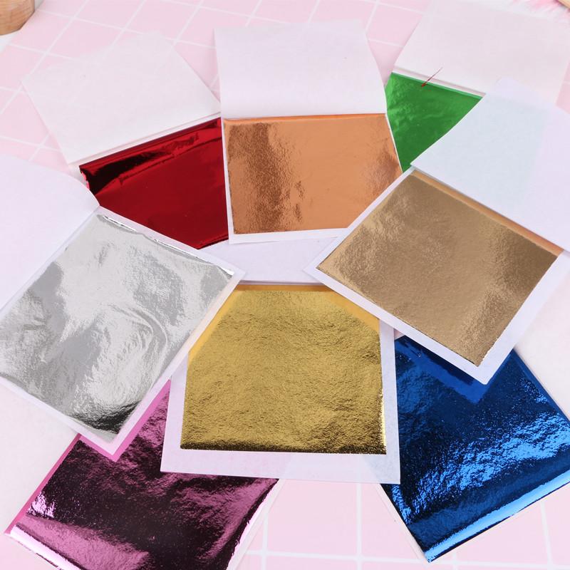 Usd 419 Antique Gold Foil Slime Filled Foil Paper Dipping Nail