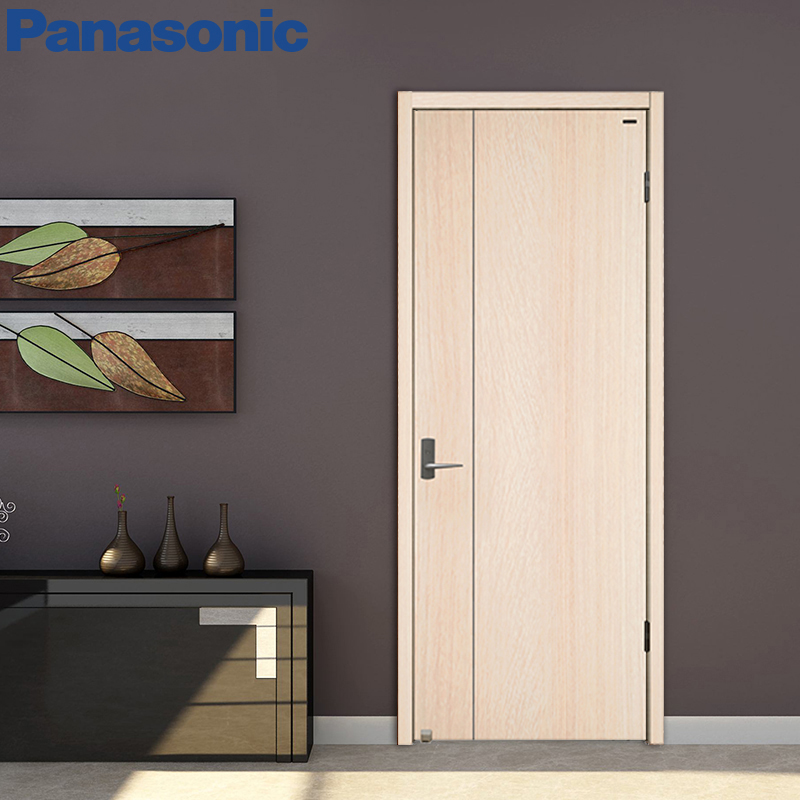 Review Panasonic wood muscle wind bined interior doors and paint free solid wood posite PET film Idea - Modern painting panel doors Simple
