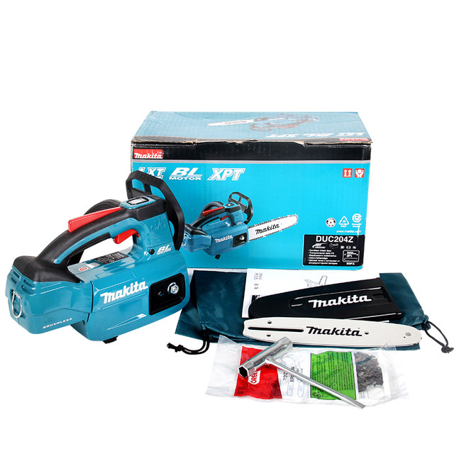 Makita DUC204Z rechargeable chain saw 200mm logging saw 8 inch 18V ...