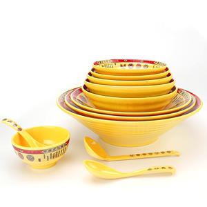 冒菜碗大碗商用面馆专用密胺餐具香锅麻辣烫碗水煮酸菜鱼盆大号碗