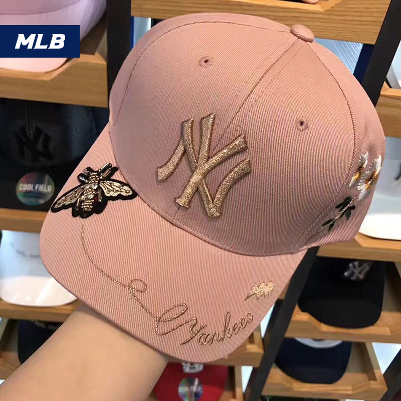 2c700699508 South Korea s genuine MLB counter purchase 2018 new baseball cap cap men and  women with the