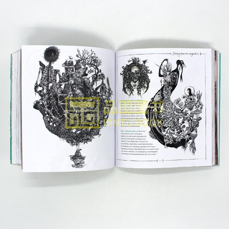 現貨幻想速寫集Sketching from the Imagination: An Insight into Creat