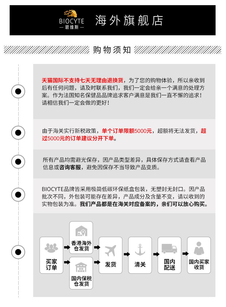 碧维斯Biocyte女性益生菌3盒装妇科胶囊调理私处霉菌乳酸杆菌护理 ¥477.00 产品中心 第20张