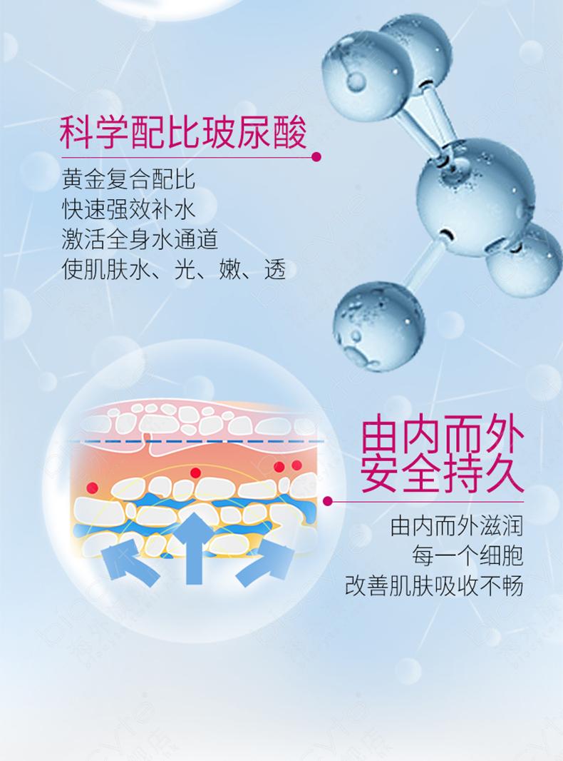 biocyte口服玻尿酸 小分子透明质酸内服片 全身补水保湿美白1月量 产品中心 第9张
