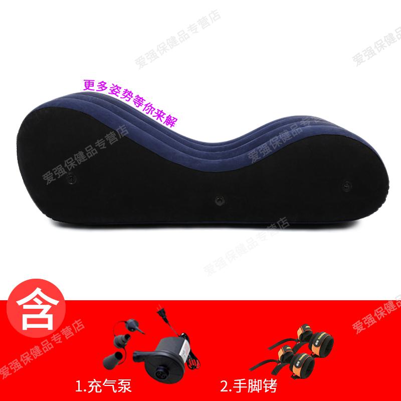 Секс-кровать Ma Zhen + электрический воздушный насос + манжеты для рук и ног