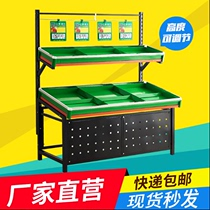 Supermarket vegetable and fruit promotion shelf vegetable fruit shop shelf fruit and vegetable rack