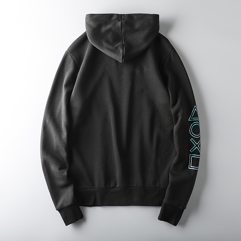 Foreign trade tail single male cut standard cattle goods clothing autumn and winter hooded plus plus thick tide brand export men's sports jacket 43 Online shopping Bangladesh