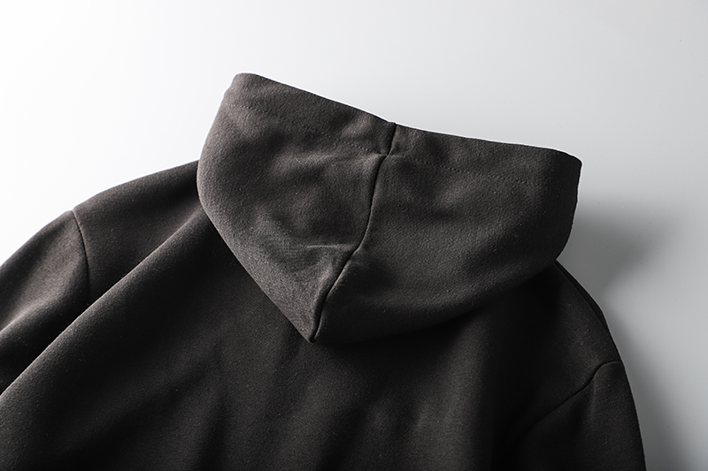 Foreign trade tail single male cut standard cattle goods clothing autumn and winter hooded plus plus thick tide brand export men's sports jacket 56 Online shopping Bangladesh