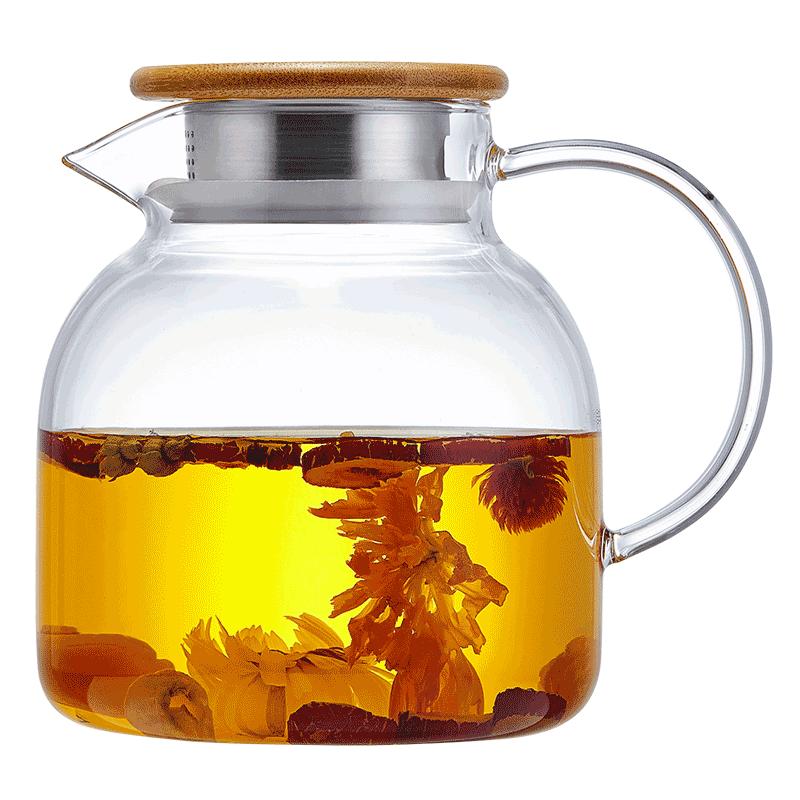 玻璃茶壶单壶耐热高温加厚煮茶大号过滤电陶炉烧水泡茶器茶具套装
