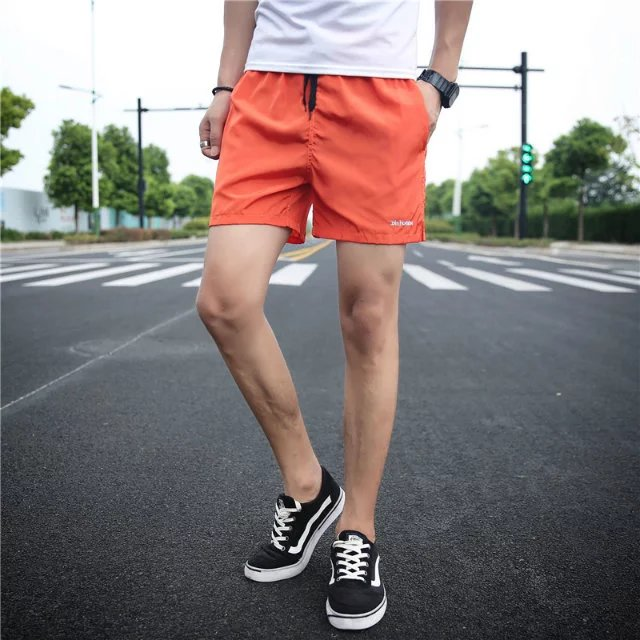 Hàn Quốc phiên bản của thủy triều của nam giới thể thao mỏng siêu quần short 3 điểm quần lớn của nam giới thường mặc phần mỏng lỏng ba tốc độ quần khô