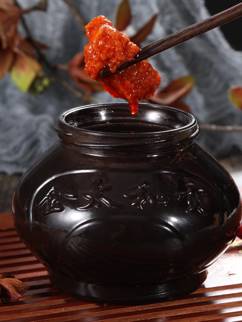 金太和贡湖南郴州桂阳特产猪肉脯罈子肉300g正宗香辣下饭二瓶包邮