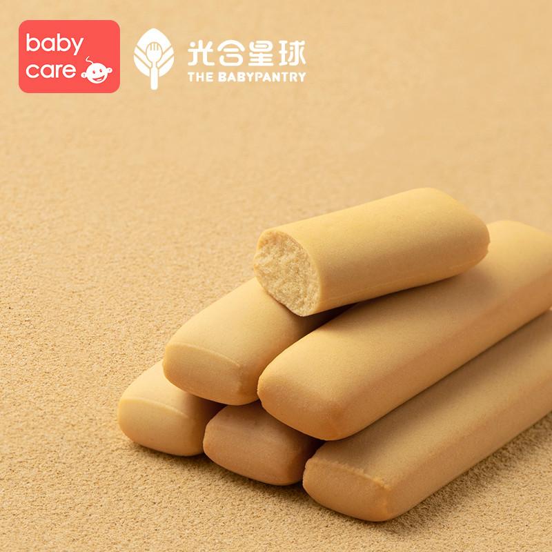 babycare新西兰辅食品牌光合星球宝宝磨牙棒婴儿零食米饼无添加用