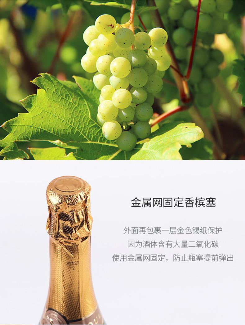 慕拉 莫斯卡托起泡酒 草莓/甜白葡萄酒 750ml 图12