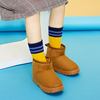 Antarctic children's snow boots boys and girls shoes winter baby boots little girl thickening plus velvet shoes ankle boots