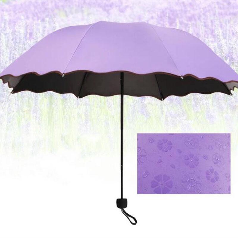 晴雨两用黑胶全自动防紫外线太阳伞