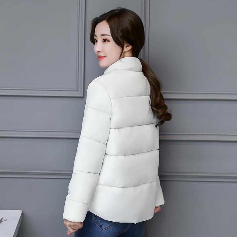 冬季宽松羽绒棉服女中长款面包服