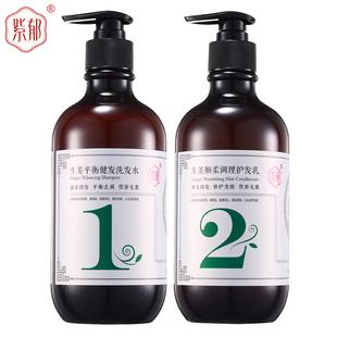 【脱健】非姜力老生姜洗发水护发乳两瓶装