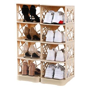 加厚鞋盒鞋子收纳盒高跟鞋aj运动球鞋收纳盒鞋子收纳神器多层鞋架