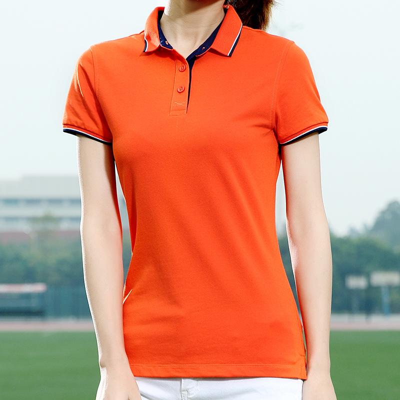 情侣装POLO衫男女有领纯棉短袖T恤刺绣-优惠价10元销量592件