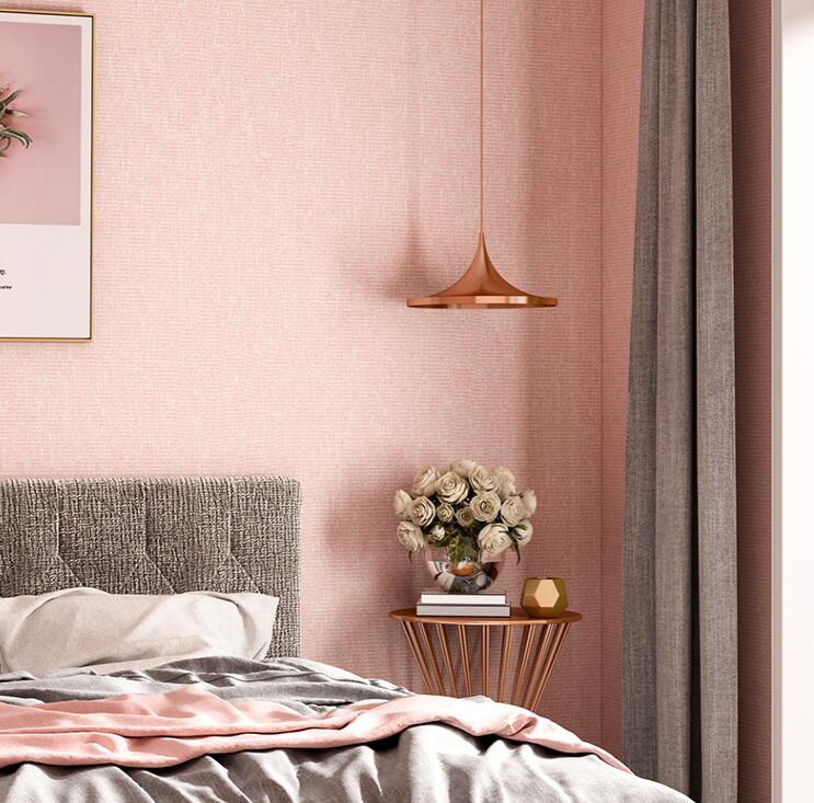 素色棉绒墙布,轻松打造简约健康舒适家! 素色墙布-第14张