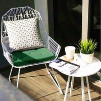 Колючая проволока Председатель переговоров стул железа творческий простой стул Промышленные лофт мебель алмазный стул бесплатная доставка по китаю
