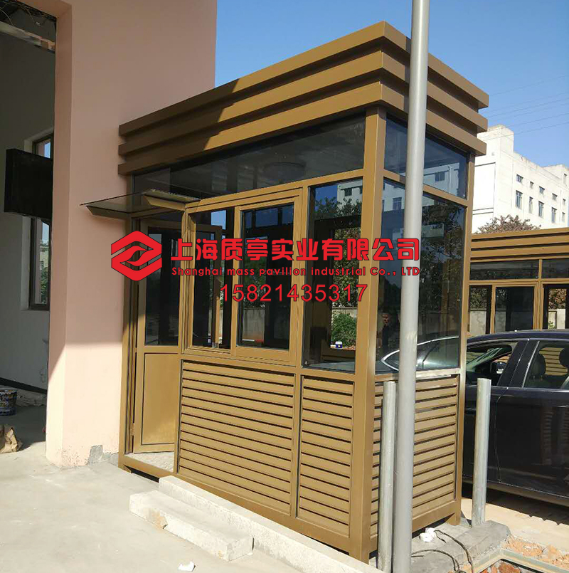 Booth manufacturers high-end charges security security door guard booth  security booth outdoor security guard booth parking