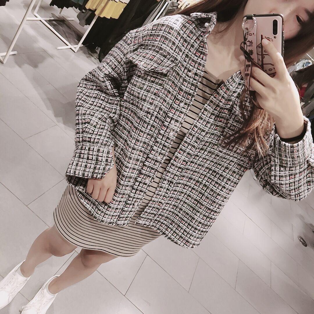 每个女孩子都应该拥有这件小香风衬衫外套7