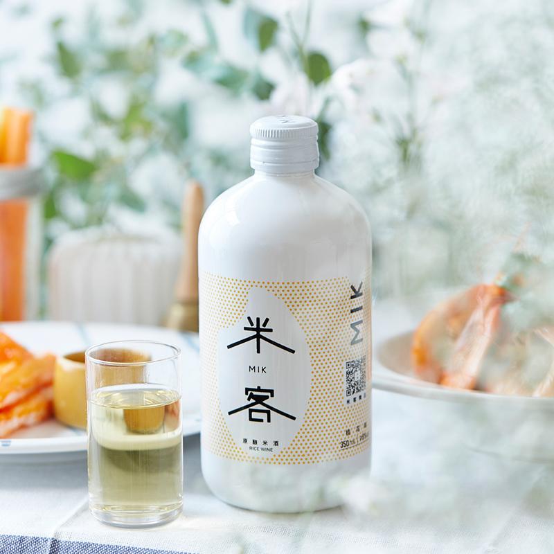 米客米酒低度酒纯糯米酒水6度甜酒酿网红酒桂花味米酒单瓶350ml