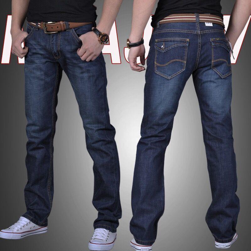 送男友老公礼物推荐:男士夏季薄款弹力修身牛仔裤