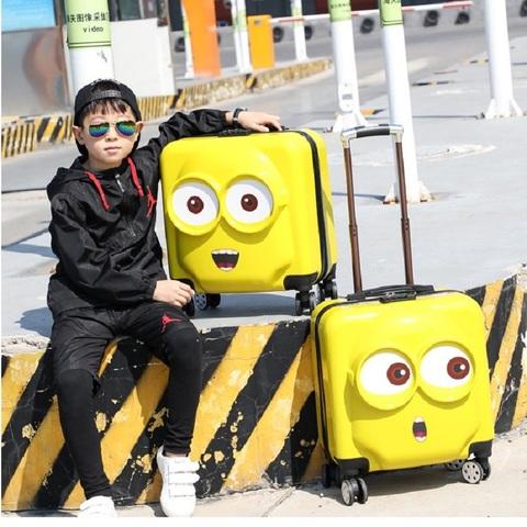 小叮当18/19寸儿童拉杆箱万向轮卡通旅行箱行李箱书包