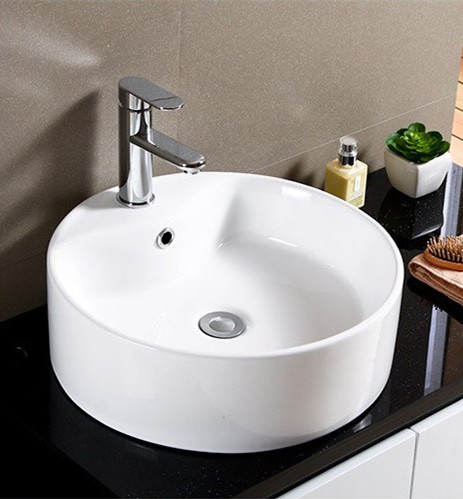 Huida Bathroom Wash Basin Wash Basin Wash Basin Stage Art Bowl Basin Round  Face Basin