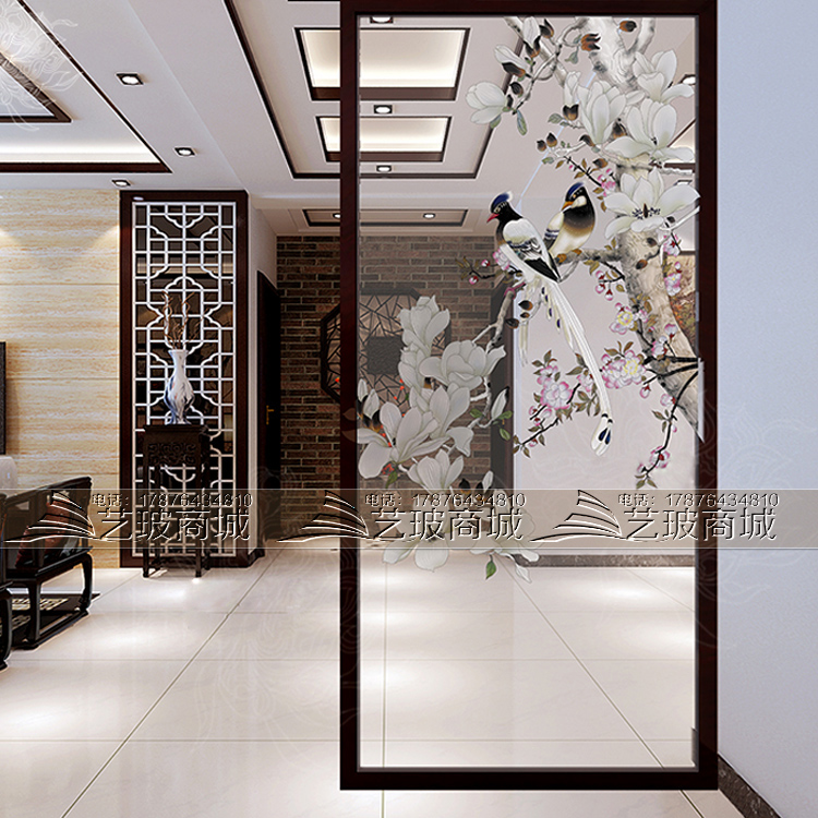Glass Partition For Living Room