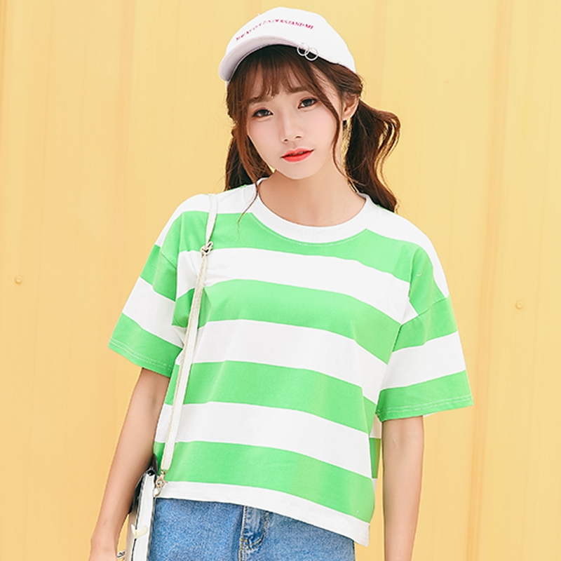 9208 Candy Stripe Green