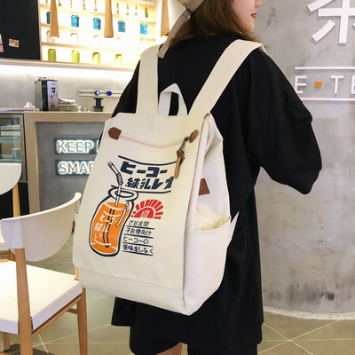 Bag handbag INS Feng Korean version of the original college student backpack high school Japanese large capacity campus computer backpack