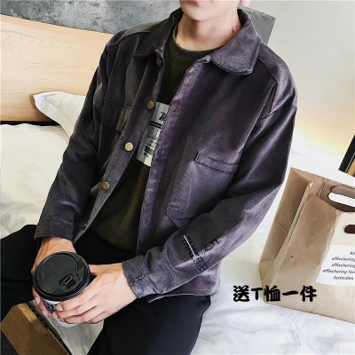 Men's 2017 new autumn denim jacket Spring and Autumn Korean fashion jacket youth casual men's denim clothes