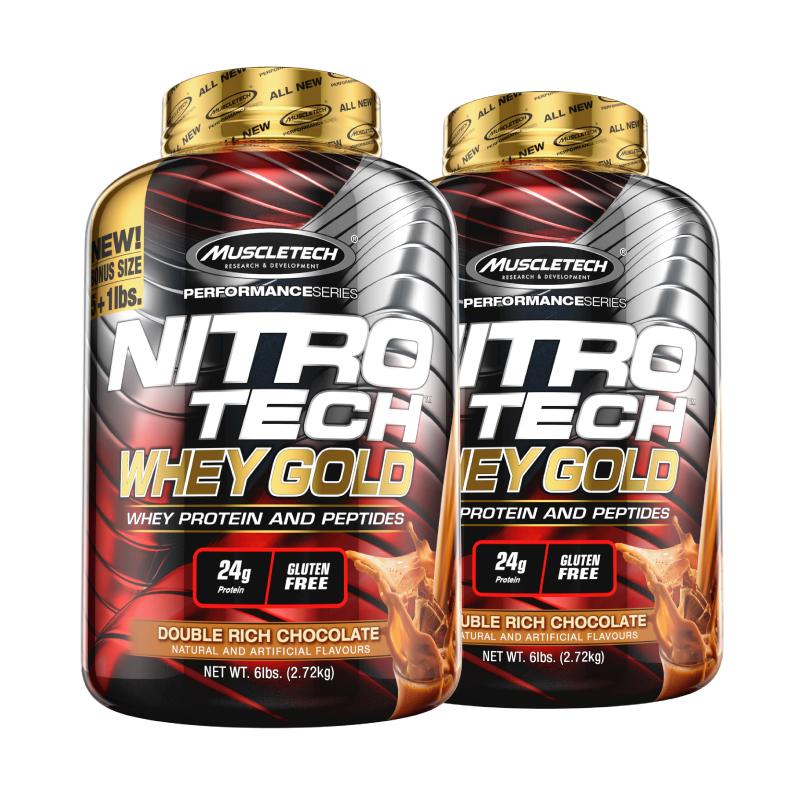 【2桶装】Muscletech肌肉科技白金乳清蛋白粉12磅健身增肌肉whey