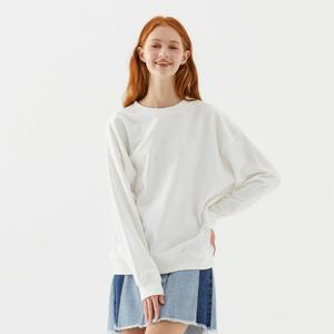 美特斯邦威衛衣女2020春季新款舒適休閑氣質圓領女士針織開衫