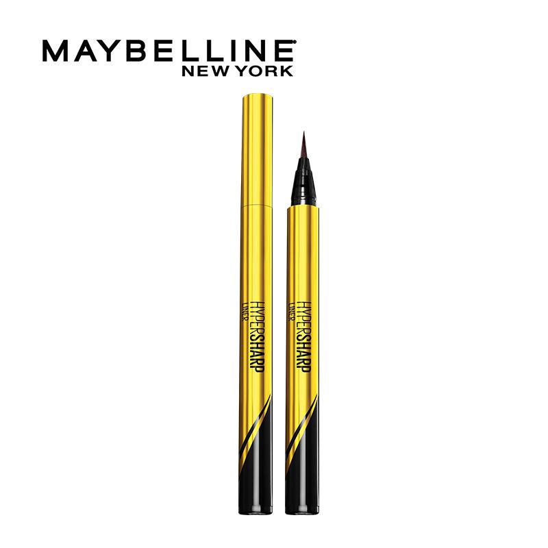 【618抢购】美宝莲小金笔眼线液笔极细防水不晕染持久非眼线胶笔
