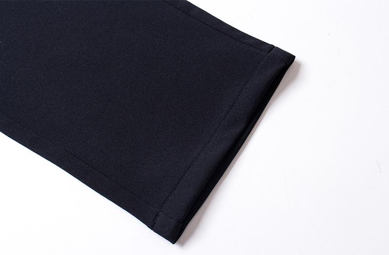 Mùa hè căng kinh doanh quần nam thẳng mỏng giản dị quần dài cộng với phân bón XL không dính tóc chất béo phần mỏng